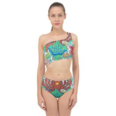 Ocalafish Spliced Up Two Piece Swimsuit by chellerayartisans