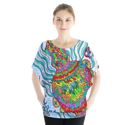 Supersonic Squid Blouse by chellerayartisans