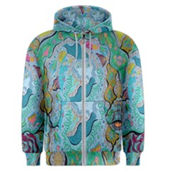 Mystic Mermaid Men s Zipper Hoodie