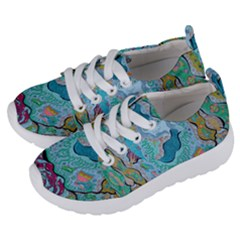 Mystic Mermaid Kids  Lightweight Sports Shoes by chellerayartisans