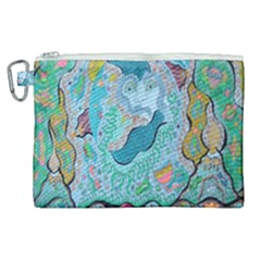 Mystic Mermaid Canvas Cosmetic Bag (xl)