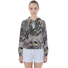 Lizard Volcano Women s Tie Up Sweat