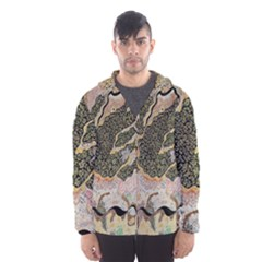 Lizard Volcano Hooded Windbreaker (men)