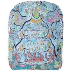 Volcano Submarine Full Print Backpack by chellerayartisans