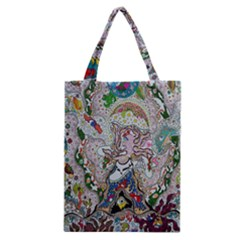 Transparent Volcano Fish Classic Tote Bag by chellerayartisans