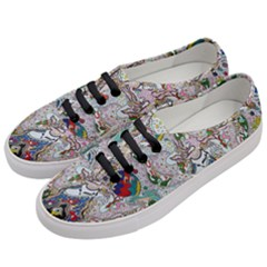 Transparent Volcano Fish Women s Classic Low Top Sneakers by chellerayartisans