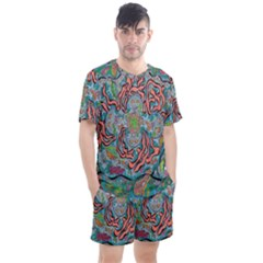 Octopusquad Men s Mesh Tee And Shorts Set