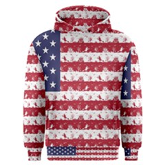 Usa Flag Halloween Holiday Nightmare Stripes Men s Overhead Hoodie by PodArtist