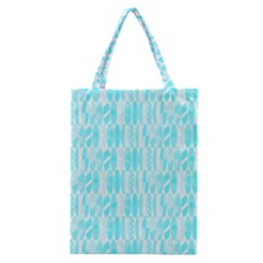 Aqua Blue Colored Waikiki Surfboards  Classic Tote Bag by PodArtist