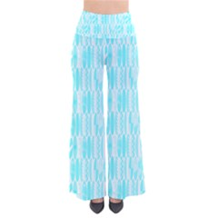 Aqua Blue Colored Waikiki Surfboards  So Vintage Palazzo Pants by PodArtist