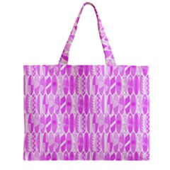 Bright Pink Colored Waikiki Surfboards  Zipper Mini Tote Bag by PodArtist