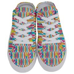 Rainbow Colored Waikiki Surfboards  Half Slippers by PodArtist