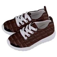 Chocolate Bar Kids  Lightweight Sports Shoes by bloomingvinedesign