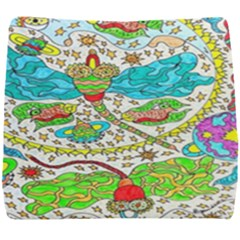 Cosmic Dragonflies Seat Cushion