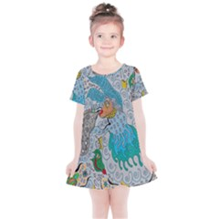 Music Angel Kids  Simple Cotton Dress by chellerayartisans