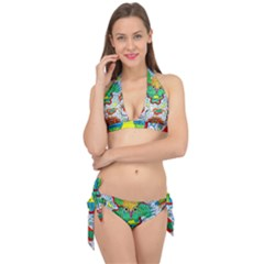 Cosmic Coocoobird Tie It Up Bikini Set