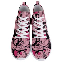 Working Woman Men s Lightweight High Top Sneakers by snowwhitegirl