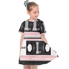 Pink Compact Cassette Kids  Sailor Dress