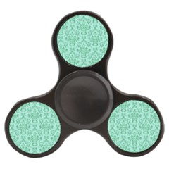 Victorian Teal Ornamental Finger Spinner by snowwhitegirl