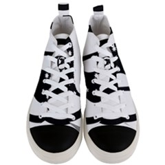Logo Of Pirate Party Australia Men s Mid Top Canvas Sneakers