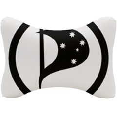Logo Of Pirate Party Australia Seat Head Rest Cushion