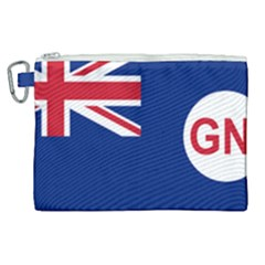 Government Ensign Of Northern Ireland, 1929 1973 Canvas Cosmetic Bag (xl) by abbeyz71