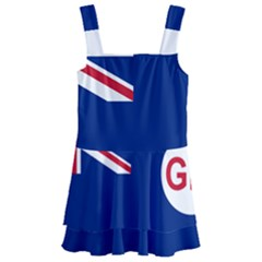 Government Ensign Of Northern Ireland, 1929 1973 Kids  Layered Skirt Swimsuit