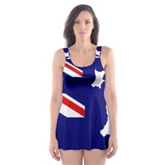 Flag Map Of Government Ensign Of Northern Ireland, 1929 1973 Skater Dress Swimsuit