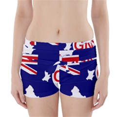 Flag Map Of Government Ensign Of Northern Ireland, 1929 1973 Boyleg Bikini Wrap Bottoms