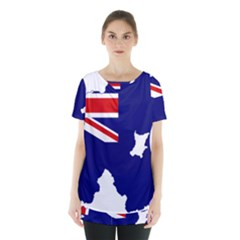 Flag Map Of Government Ensign Of Northern Ireland, 1929 1973 Skirt Hem Sports Top