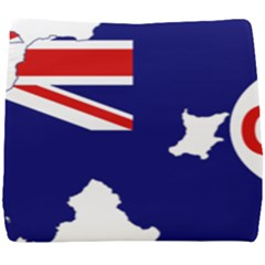 Flag Map Of Government Ensign Of Northern Ireland, 1929 1973 Seat Cushion by abbeyz71