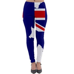 Flag Map Of Government Ensign Of Northern Ireland, 1929 1973 Lightweight Velour Leggings