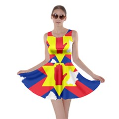 Ulster Nationalists Flag Map Of Northern Ireland Skater Dress