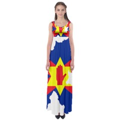 Ulster Nationalists Flag Map Of Northern Ireland Empire Waist Maxi Dress
