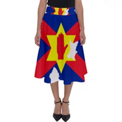 Ulster Nationalists Flag Map Of Northern Ireland Perfect Length Midi Skirt