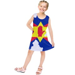 Ulster Nationalists Flag Map Of Northern Ireland Kids  Tunic Dress