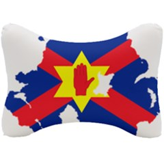Ulster Nationalists Flag Map Of Northern Ireland Seat Head Rest Cushion by abbeyz71