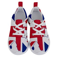 Union Jack Flag Map Of Northern Ireland Running Shoes