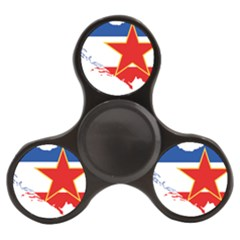 Flag Map Of Socialist Federal Republic Of Yugoslavia Finger Spinner by abbeyz71