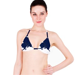 Flag Map Of Alaska Bikini Top by abbeyz71