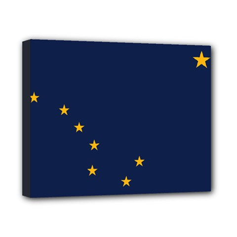 Flag Of Alaska Canvas 10  X 8  (stretched) by abbeyz71