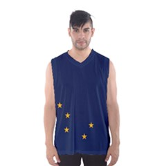 Flag Of Alaska Men s Basketball Tank Top by abbeyz71