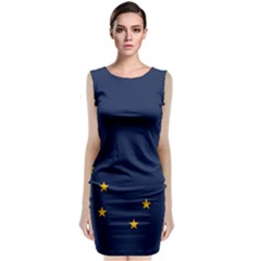 Flag Of Alaska Classic Sleeveless Midi Dress