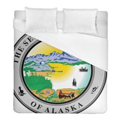 State Seal Of Alaska  Duvet Cover (full/ Double Size) by abbeyz71