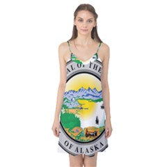 State Seal Of Alaska  Camis Nightgown