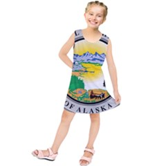 State Seal Of Alaska  Kids  Tunic Dress