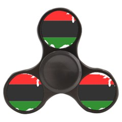 Pan African Flag Map Of United States Finger Spinner by abbeyz71