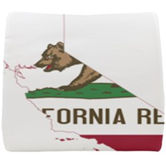 California Flag Map Seat Cushion by abbeyz71