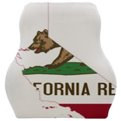 California Flag Map Car Seat Velour Cushion  by abbeyz71