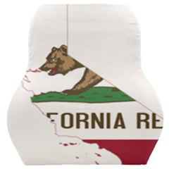 California Flag Map Car Seat Back Cushion  by abbeyz71